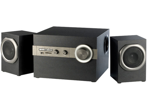 Home cinema 2 1 pas cher avec lecteur mp3 et bluetooth par auvisio - Systeme audio bluetooth ...