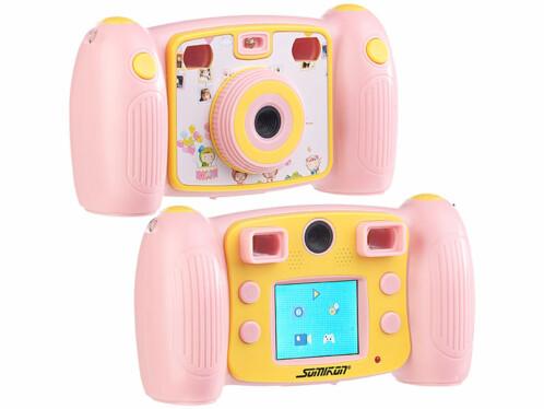 Appareil photo numérique Full HD pour enfants DV-25 - Rose