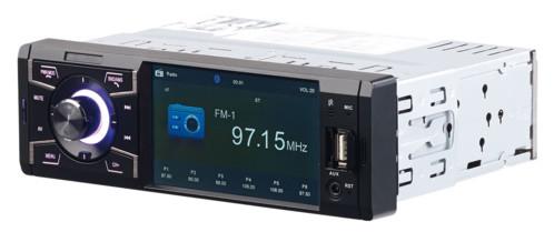 autoradio avec ecran couleur lecteur usb micro sd bluetooth mains libres sans fil légal connexion caméra de recul et télécommande cas 3445 creasono