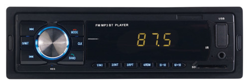 Autoradio MP3 4 x 45 W à fonctions bluetooth et mains libres