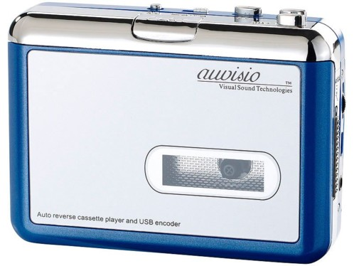 Baladeur encodeur K7 USB ''Tape2PC Blue Edition''