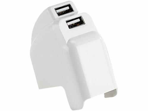 Double adaptateur secteur pour iPad / iPad 2