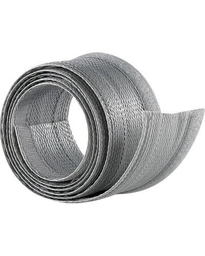 Gaine passe-câble argentée - 1,8 M