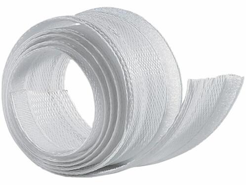 Gaine passe-câble blanche - 1,8 M