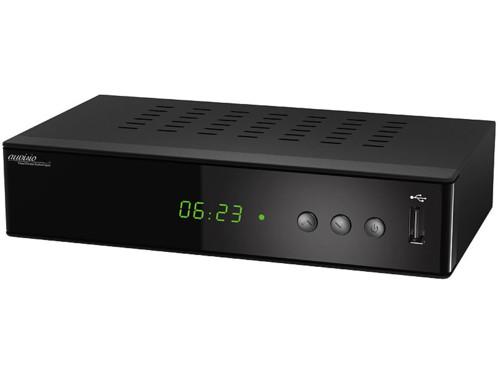 Récepteur numérique 3 en 1 DVB-C, DVB-T2 & radio internet, avec lecteur multimédia, H.265 DCR-200