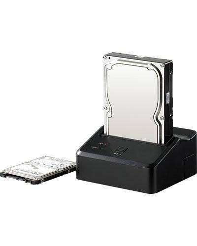 Station d'accueil USB 3.0 pour Disques S-ATA 2.5'' & 3.5''
