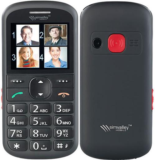 Téléphone mobile senior avec appel d'urgence et mémos vocaux XL-940