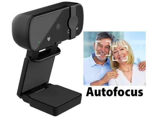 Webcam USB 4K autofocus avec cache (reconditionné)