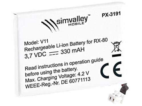 2 batteries  pour ''RX-80 Pico V1 et 2''