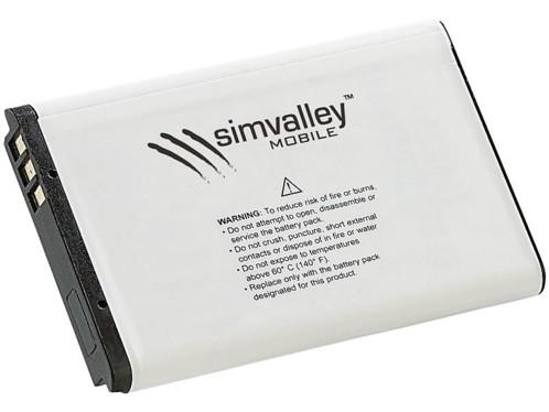 Batterie de rechange 1700 mAh pour SimValley XT-980
