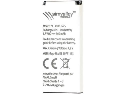 Batterie supplémentaire pour Téléphones-oreillettes SHX-660.duo et SHX-670.duo