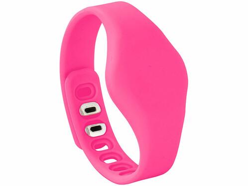 Bracelet de rechange pour traceur fitness ''FBT-70-3.mini'' - Rose