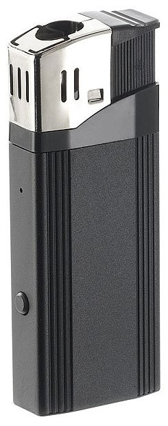 Caméra briquet Full HD 'MC-1920' avec allume-cigarette