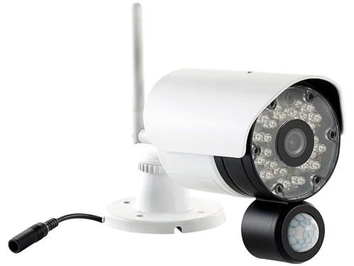 Caméra de surveillance avec capteur PIR et audio 2 voies