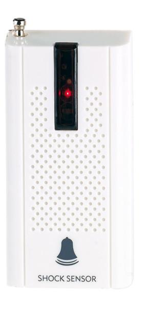 detecteur de vibrations sans fil avec sensibilité reglable pour systeme d'alarme xmd-5400