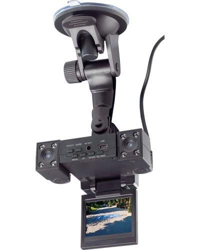Double caméra de bord avec écran TFT ''MDV-1280.Twin''