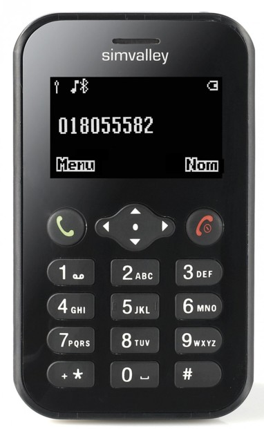 Mini téléphone portable Pico ''RX-482'' V2