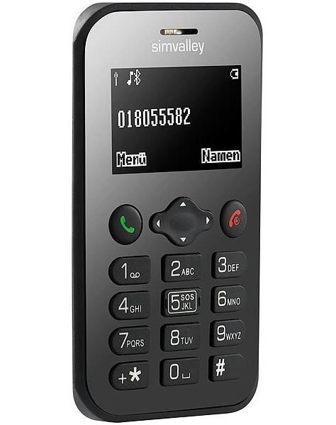 Mini téléphone portable ''RX-486'' V2 avec GPS et fonction S.O.S