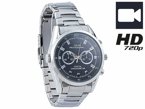 Montre-caméra HD 8 Go à LED infrarouges VA-720