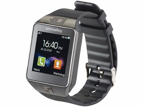 Montre-téléphone connectée PW-430.mp à fonction smartwatch