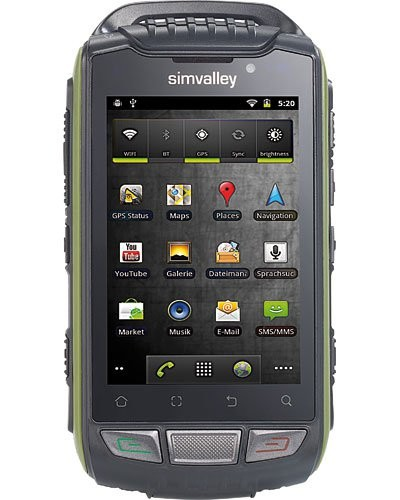 Smartphone 3.5'' Dual Sim ''Outdoor'' SPT-800 V2 Android 4.0