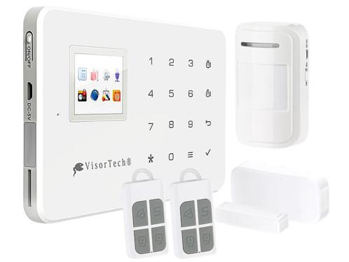 syst me d 39 alarme maison complet avec sms wifi et appli xmd. Black Bedroom Furniture Sets. Home Design Ideas