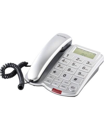 Téléphone fixe à grosses touches avec écran LCD ''XLF-40''