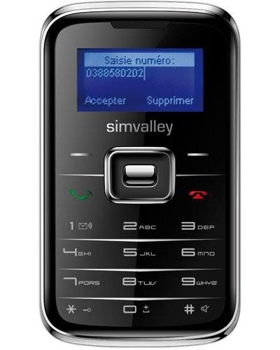 Téléphone miniature ''Pico Inox RX-180'' noir