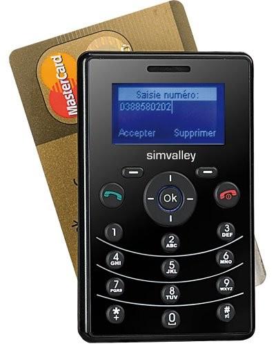 Téléphone miniature Simvalley ''RX-80 Pico V 4.0''