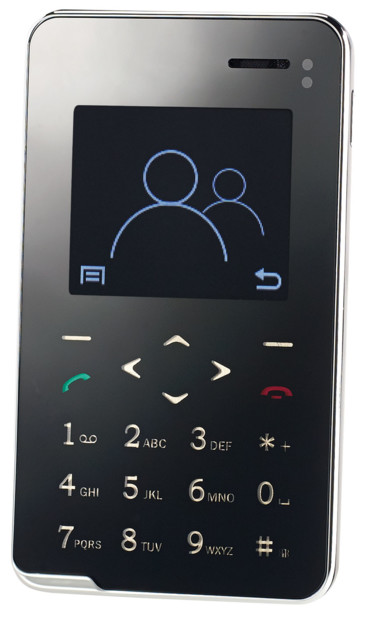 mini téléphone portable ultra fin quadribande et bluetooth rx-492