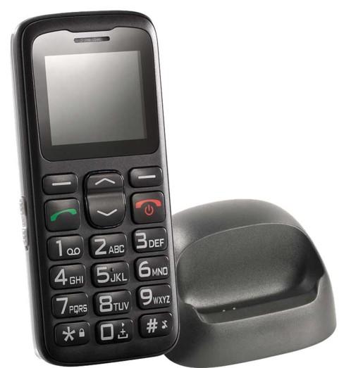Téléphone portable grandes touches XL 915 v.2 - Avec socle de chargement