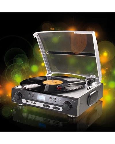 Tourne-disque USB & lecteur MP3 ''UPL-800.MP3''