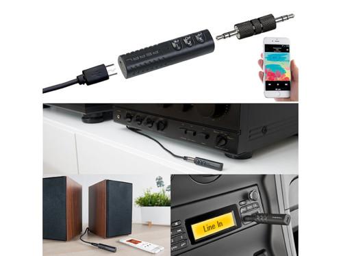 Adaptateur audio jack à fonctions bluetooth et mains libres BTA-40