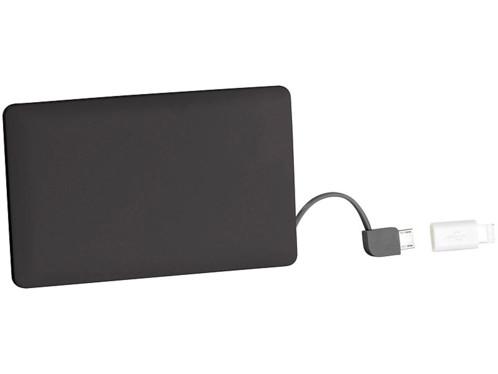 Batterie de secours 2500 mAh format carte bancaire compatible Lightning