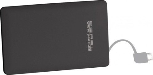 Batterie de secours 2500 mAh format carte bancaire - Micro-USB