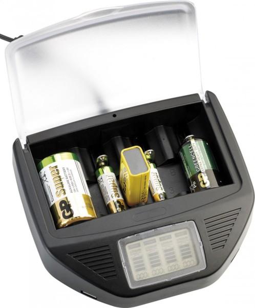 Chargeur universel 2 x USB pour piles alcalines & batteries