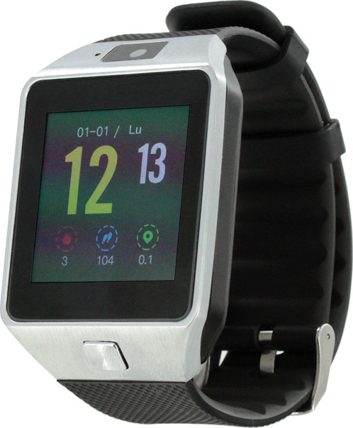 montre connectée avec mode appels gsm et applications sport sms notifications calculatrice timer dictaphone tracker sommeil