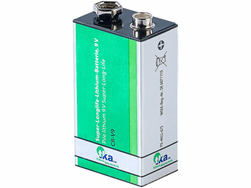 Pile bloc 9 V lithium Super-Longlife