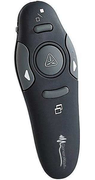 Pointeur laser avec télécommande pour présentation