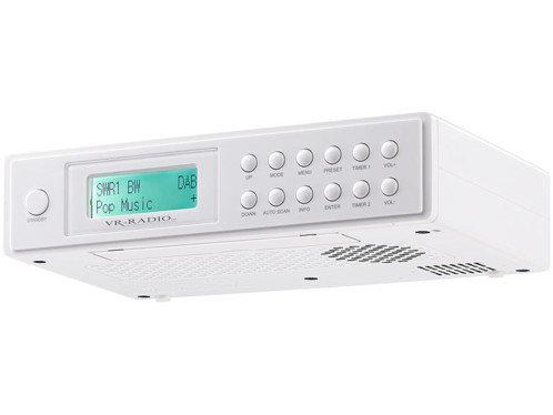 radio numérique dab+ pour cuisine avec mode minuteur dor-150 vr
