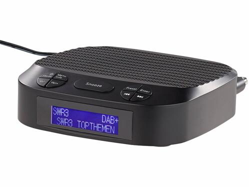 Radio-réveil numérique FM/DAB+