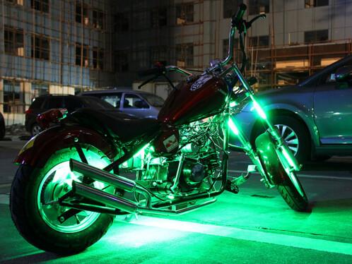 Kit tuning LED auto-moto avec application Android
