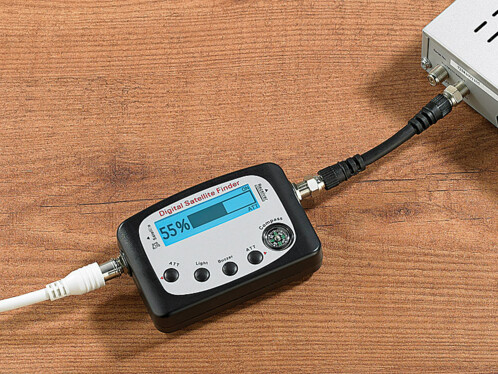 Pointeur satellite numérique