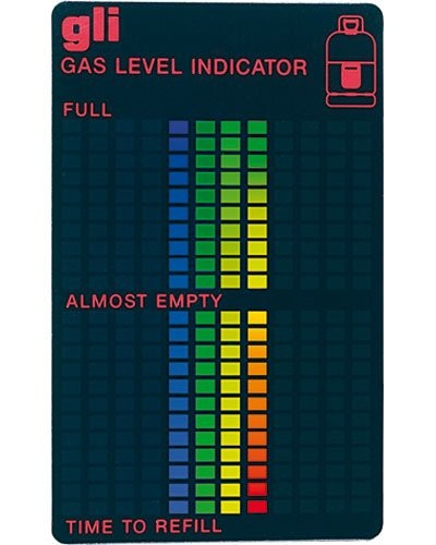 Indicateur de niveau de gaz