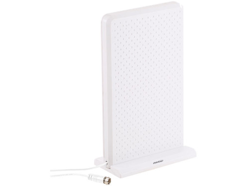 Antenne active 35 dB TNT/TNT 2 UHD & DAB/DAB+ - Blanc