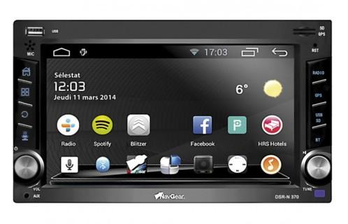 Autoradio Android 2DIN ''DSR-N 370'' avec ELA-Link