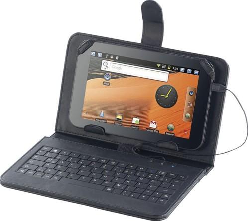 Housse pour tablette 7'' avec clavier microUSB