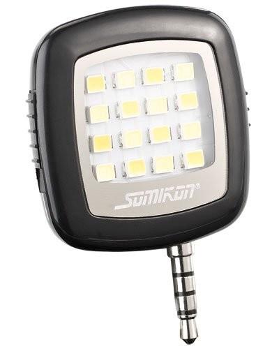 Led Smartphone Avec Lampe Jack Pour Somikon Vidéo Connexion 16 345jqARL