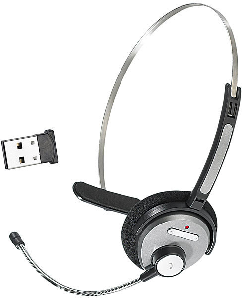 Micro-casque bluetooth  + Dongle
