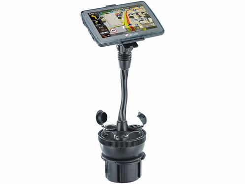 Support GPS et chargeur pour porte-gobelet